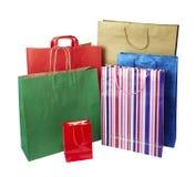 Vendita al dettaglio di consumismo del sacchetto di acquisto Fotografia Stock Libera da Diritti
