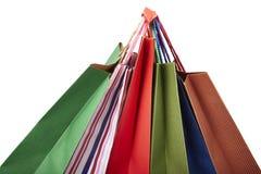 Vendita al dettaglio di consumismo del sacchetto di acquisto Fotografie Stock