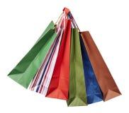Vendita al dettaglio di consumismo del sacchetto di Shoping Fotografia Stock Libera da Diritti
