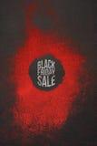 Vendita Art Design di Black Friday per il buono illustrazione di stock