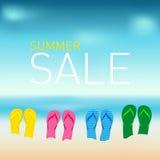 Vendita calda di estate Fotografia Stock