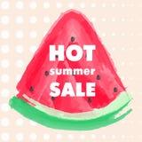 Vendita calda di estate Immagini Stock