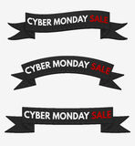 Vendita cyber di lunedì Fotografie Stock Libere da Diritti