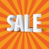 vendita 3D Fotografia Stock Libera da Diritti