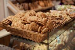 Vendita dei biscotti Fotografia Stock