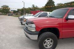 Vendita dei camion Fotografie Stock Libere da Diritti