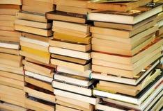 Vendita dei libri della seconda mano Fotografie Stock