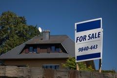 Vendita del bene immobile Fotografie Stock