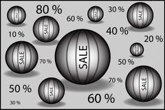 Vendita del cerchio Immagini Stock