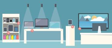 Vendita del deposito piano di progettazione di Smartphone illustrazione vettoriale