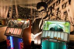 Vendita del jukebox Fotografia Stock