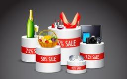 Vendita del prodotto Fotografia Stock