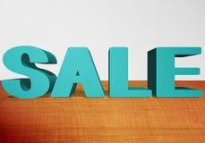 vendita del testo 3d illustrazione vettoriale