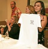 Vendita della camicia di McCain Palin di elezione dell'alberino Fotografia Stock Libera da Diritti