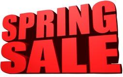 Vendita della primavera Fotografia Stock