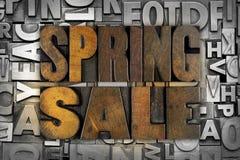 Vendita della primavera Immagini Stock