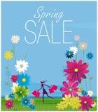 Vendita della primavera Fotografie Stock