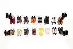 Vendita della scarpa delle donne Immagini Stock Libere da Diritti