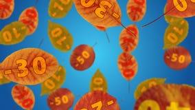 VENDITA di autunno royalty illustrazione gratis