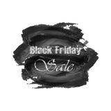 Vendita di Black Friday dell'iscrizione su fondo astratto Fotografie Stock Libere da Diritti