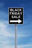 Vendita di Black Friday questo modo Fotografie Stock