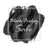 Vendita di Black Friday su fondo nero astratto Immagine Stock