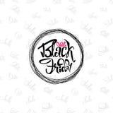 Vendita di Black Friday su fondo senza cuciture - gli autoadesivi, distintivi, ha scritto gli strumenti di calligrafia e modifica Fotografie Stock