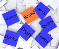 Vendita di Brand Post-It Note Means Company Immagini Stock