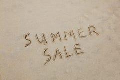 Vendita di estate Immagini Stock