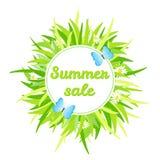 Vendita di estate Immagini Stock Libere da Diritti