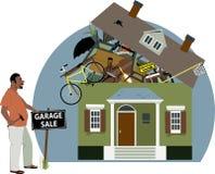 Vendita di garage illustrazione vettoriale