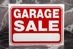 Vendita di garage Fotografia Stock