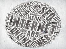 Vendita di Internet immagine stock