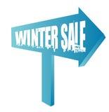Vendita di inverno Fotografia Stock Libera da Diritti
