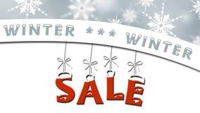 Vendita di inverno - concetto di vendita di affari royalty illustrazione gratis