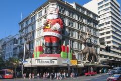 Vendita di Natale a Aukland, NZ Fotografia Stock