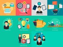 Vendita e gestione illustrazione vettoriale