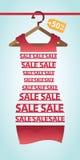 Vendita e modo ed acquisto Immagini Stock