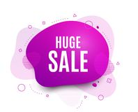Vendita enorme Segno di prezzi di offerta speciale Vettore royalty illustrazione gratis