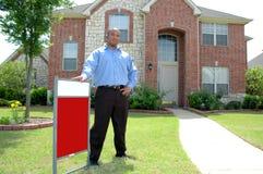 Vendita la vostra casa Immagine Stock Libera da Diritti