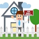 Vendita la vostra proprietà Immagine Stock