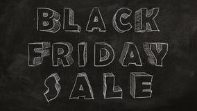Vendita nera di venerdì illustrazione vettoriale