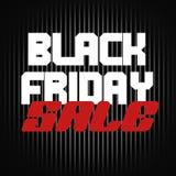 Vendita nera di venerdì Immagini Stock