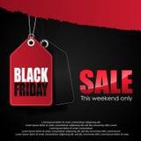 Vendita nera di venerdì Fotografia Stock Libera da Diritti
