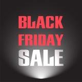 Vendita nera di venerdì Immagine Stock