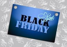 Vendita nera di venerdì sul fondo del modello Fotografia Stock