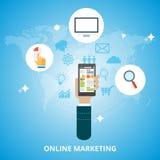 Vendita online Illustrazione di Stock