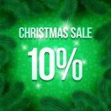 Vendita pine-02 di Natale royalty illustrazione gratis