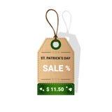 Vendita a ribasso di offerta di Patrick Day Beer Festival Special del san Immagine Stock Libera da Diritti