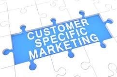 Vendita specifica del cliente Fotografia Stock